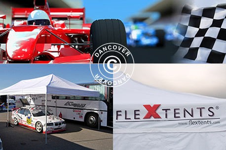Faltzelte Flextents - Racing zelte